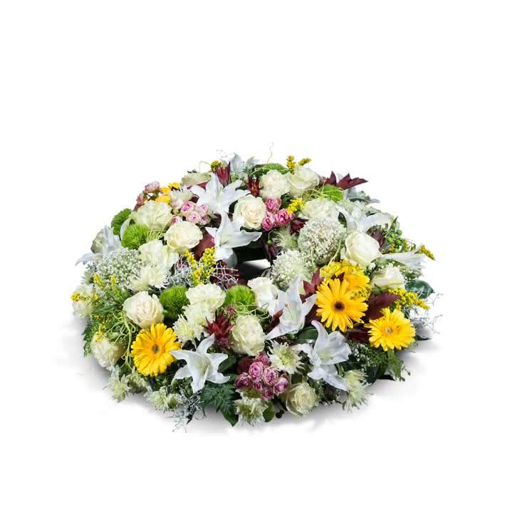 Coroa flores mistas