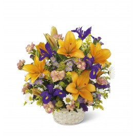 Natural Wonders Bouquet - Basket included, Natural Wonders Bouquet - Basket included