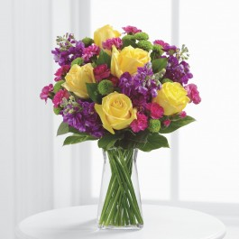 The Happy Times™ Bouquet by FTD® - VASE INCLUDED, The Happy Times™ Bouquet by FTD® - VASE INCLUDED