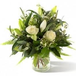 Funeral/Sympathybouquet lily, Funeral/Sympathybouquet lily