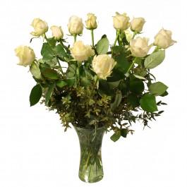 12 White roses, 12 White roses