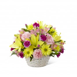 Basket of Cheer Bouquet - Basket included, Basket of Cheer Bouquet - Basket included