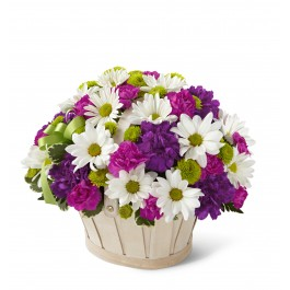 Blooming Bounty Bouquet - Basket included, Blooming Bounty Bouquet - Basket included