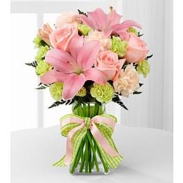 Girl Power Bouquet - Vase included, Girl Power Bouquet - Vase included