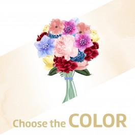 Bouquet of mixed cut flowers, Bouquet of mixed cut flowers