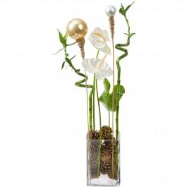 Elégance et magie de l'hiver, vase inclus, Elégance et magie de l'hiver, vase inclus