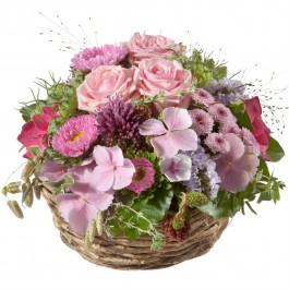 Un panier plein de fleurs délicates, Un panier plein de fleurs délicates