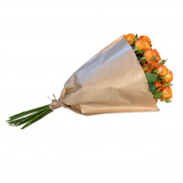 Bundle of orange Polyantha Roses, Bundle of orange Polyantha Roses
