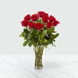 12 rosas de tallo large, 12 rosas de tallo large