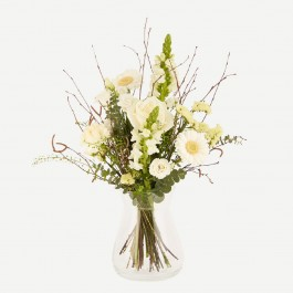 White airy bouquet, White airy bouquet