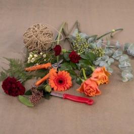 Ramo de flores cortadas mixtas, Ramo de flores cortadas mixtas