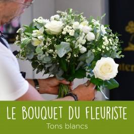 Bouquet du fleuriste Blanc, Bouquet du fleuriste Blanc