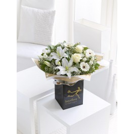 WHITE RADIANCE SYMPATHY HAND-TIED, WHITE RADIANCE SYMPATHY HAND-TIED