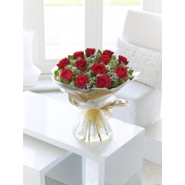 HEAVENLY RED ROSE HAND-TIED, HEAVENLY RED ROSE HAND-TIED