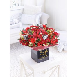 IDD LARGE CHRISTMAS CRACKER HAND-TIED WITH CHOCOLA, IDD LARGE CHRISTMAS CRACKER HAND-TIED WITH CHOCOLA