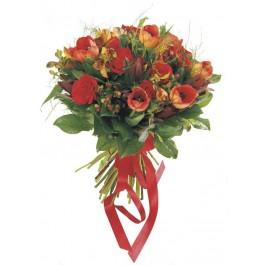 Ramo de flores de temporada (rojo), Ramo de flores de temporada (rojo)