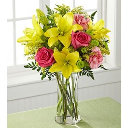 THE FTD® BRIGHT & BEAUTIFUL™ BOUQUET, THE FTD® BRIGHT & BEAUTIFUL™ BOUQUET