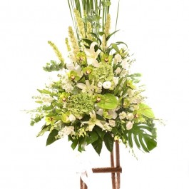 Arrangement of Cut Flowers with Stand, Arrangement of Cut Flowers with Stand