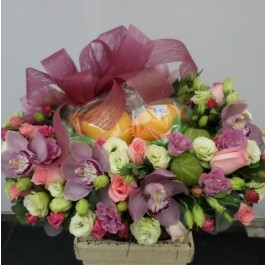 Flowers and Fruits Arrangement, Flowers and Fruits Arrangement