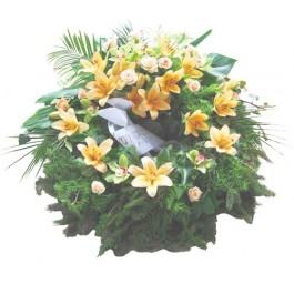 Corona fúnebre, Corona fúnebre
