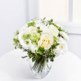 Romantic Bouquet in White Colours, Romantic Bouquet in White Colours