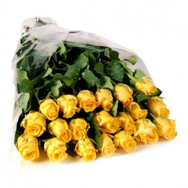 Bunch of 20 stems yellow roses , Bunch of 20 stems yellow roses