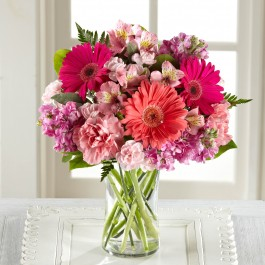The FTD Blushing Beauty Bouquet,  The FTD Blushing Beauty Bouquet