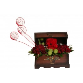 Arrangement in a box, Arrangement in a box
