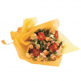 cheeful hand-tied bouquet, cheeful hand-tied bouquet