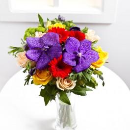 Colourful seasonal bouquet, Colourful seasonal bouquet