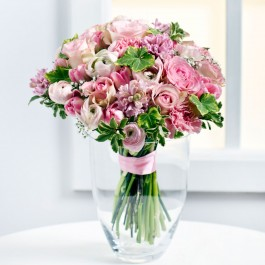Bouquet in pastel colours, Bouquet in pastel colours