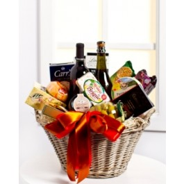 Luxurious Gourmet Gift Basket, Luxurious Gourmet Gift Basket