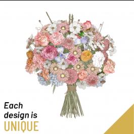 Bouquet de fleurs de saison, Bouquet de fleurs de saison