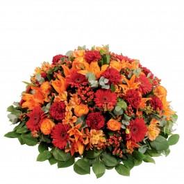 Memorial rouge orange, Memorial rouge orange
