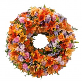 Colorful wreath, Colorful wreath