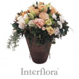 Arreglo mixto (pottery vase included), Arreglo mixto (pottery vase included)