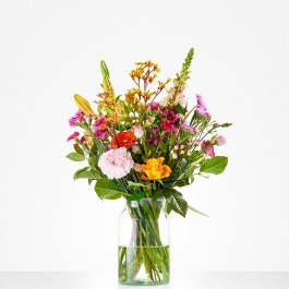 Bouquet: Cheerful picking bouquet; excl. vase, Bouquet: Cheerful picking bouquet; excl. vase