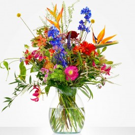 Bouquet: Color explosion; excl. vase, Bouquet: Color explosion; excl. vase