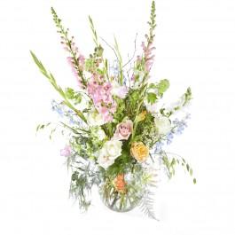 Funeral: Plenty in life Funeral Bouquet in a vase, Funeral: Plenty in life Funeral Bouquet in a vase