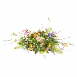 Funeral: Silent words Funeral Bouquet Ovaal, Funeral: Silent words Funeral Bouquet Ovaal