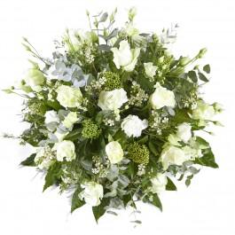 Funeral: I miss you Funeral Bouquet Biedermeier, Funeral: I miss you Funeral Bouquet Biedermeier