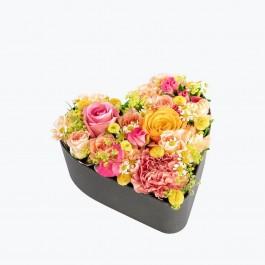 Floral Heart Large, Floral Heart Large