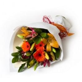 Hand Tied Mixed Bouquet, Hand Tied Mixed Bouquet