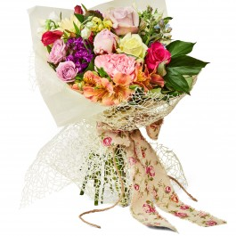 Single Flower wrapped, Single Flower wrapped