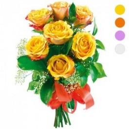 Kwiaty - 7 róż, Kwiaty - 7 róż