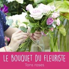 Bouquet du fleuriste Rose, Bouquet du fleuriste Rose