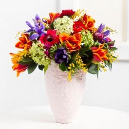 Cheerful Seasonal Bouquet, Cheerful Seasonal Bouquet
