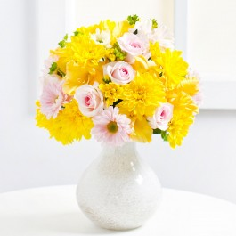 Bouquet of Yellow Chrysanthemums, Bouquet of Yellow Chrysanthemums