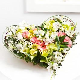 Heartshape arrangement, Heartshape arrangement