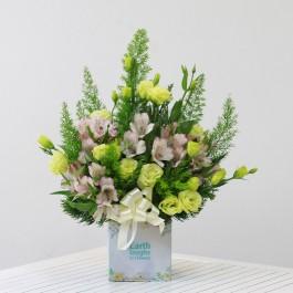Lime and Pink Flowers, Lime and Pink Flowers